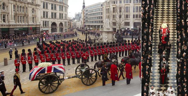 Britain Thatcher Funeral
