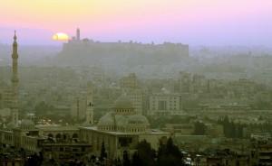 Siria grande moschea Aleppo