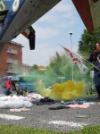 2014 06 02 antimilitaristi a Caselle (1)