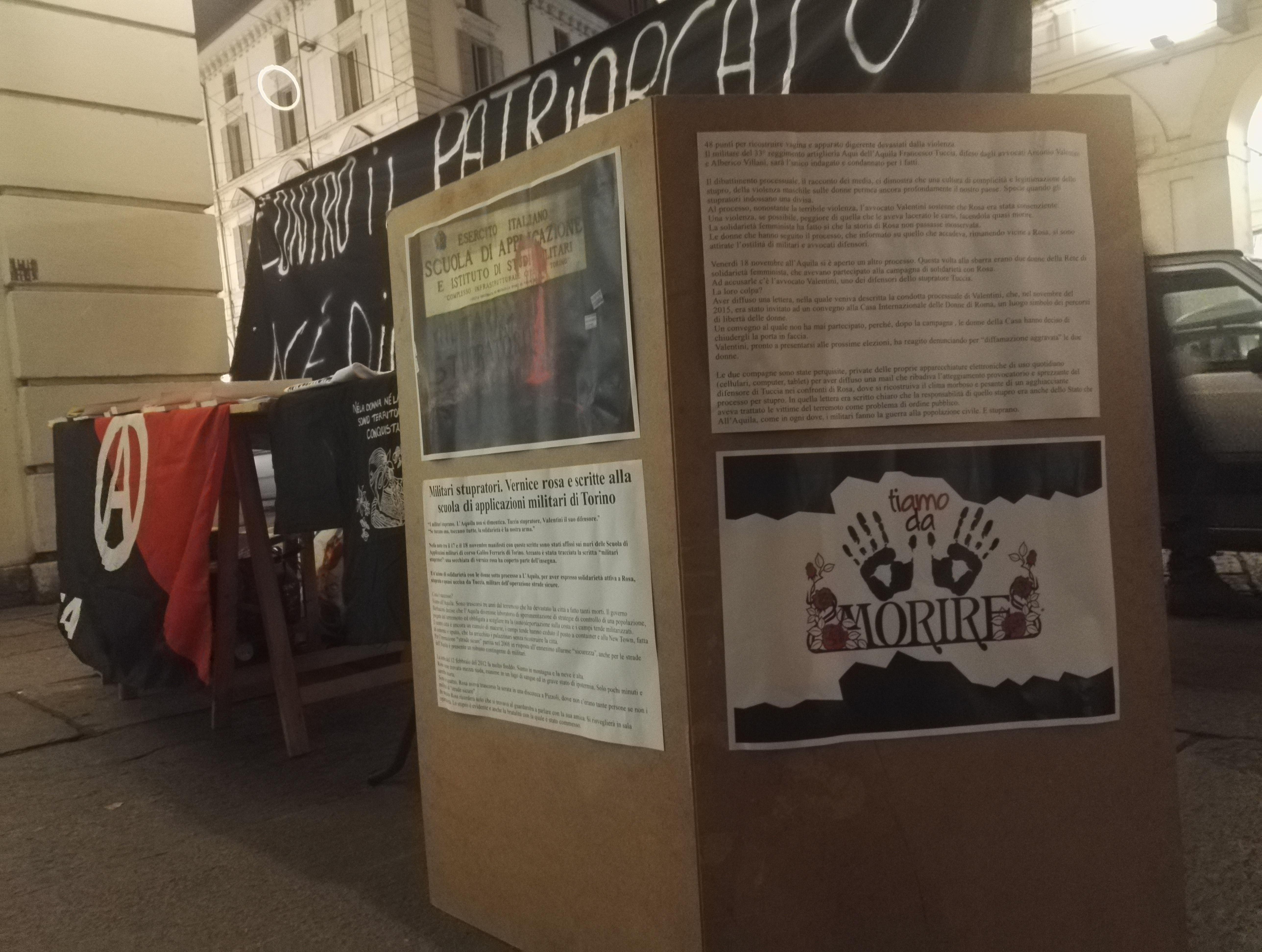 Nello stesso giorno a Torino c è stato un punto informativo in centro 3a5956bc51f8
